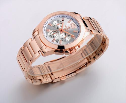 reloj calendario megir modelo 5006gxi - original