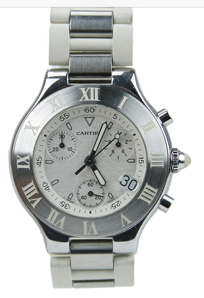35323ce6301 reloj cartier original usado impecable. Cargando zoom.