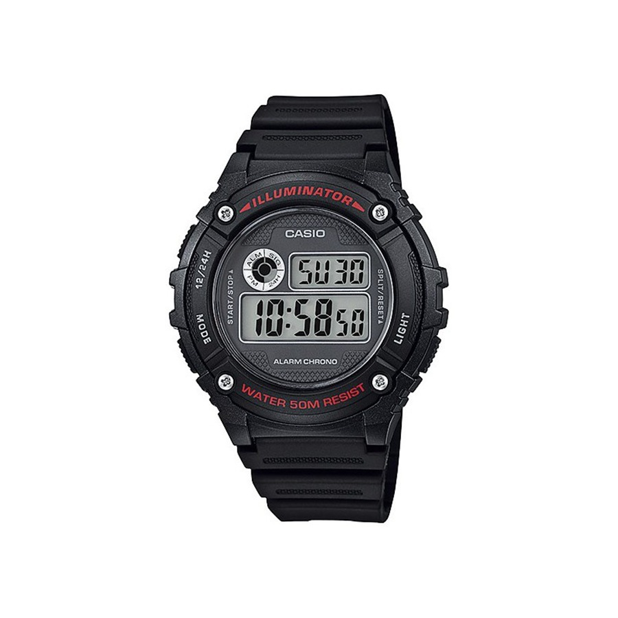 926e8539d Reloj Casio Con Cronómetro W 216 H - Hombre - Varios Colores - $ 1.390,00  en Mercado Libre