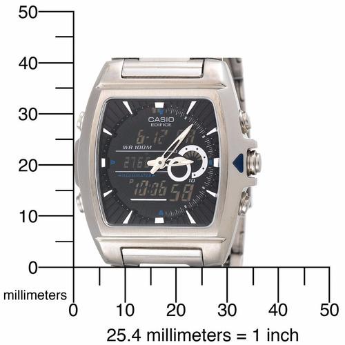 reloj casio edifice efa-120d-1av cronometro 1/100 original