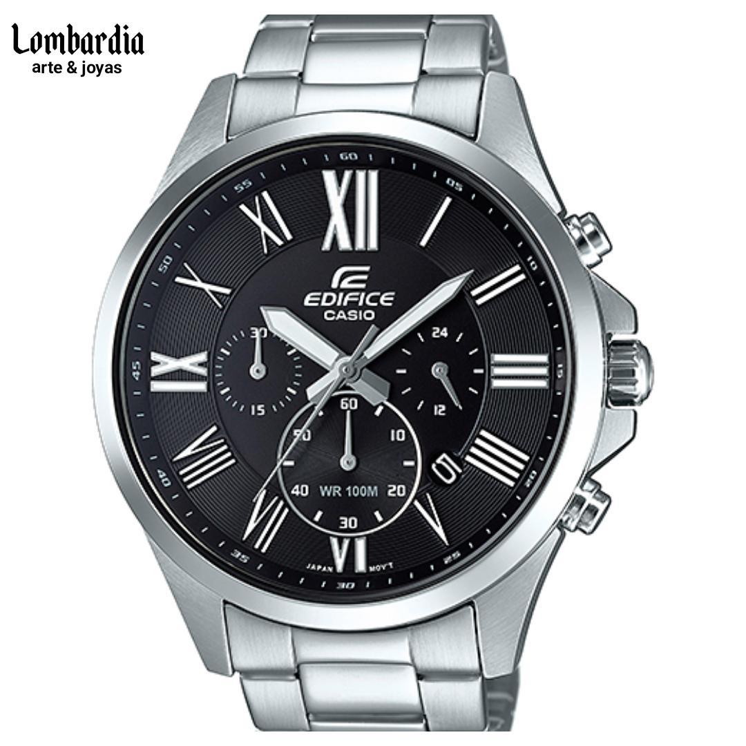 cb90474961b2 reloj casio edifice hombre efv-500d fondo negro. Cargando zoom.