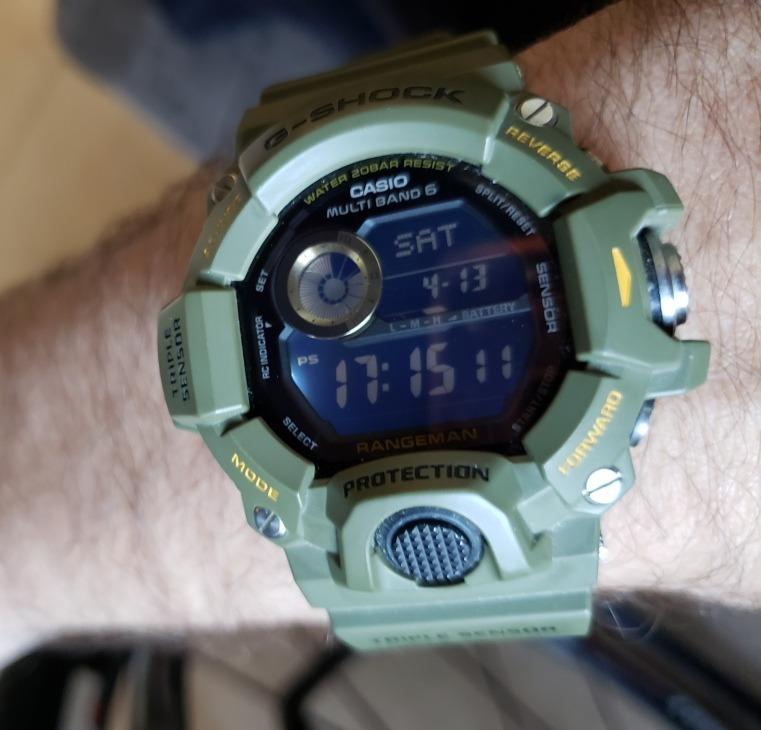 e9dfc599218a Reloj Casio G-shock Rangeman 9400 - U S 600