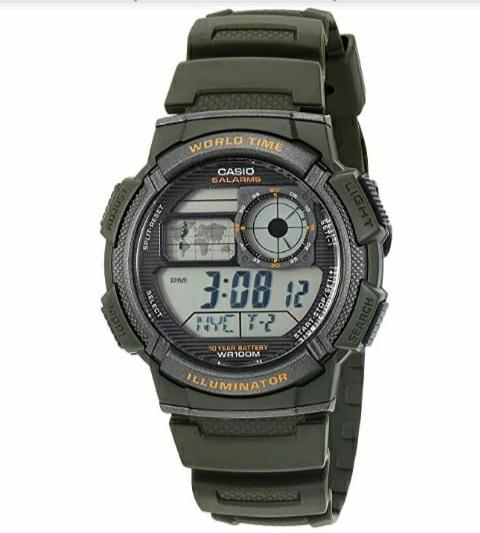 bfb96b25de17 Reloj Casio Hombre Ae1000w-3av Sumergible 10 Años De Bateria ...