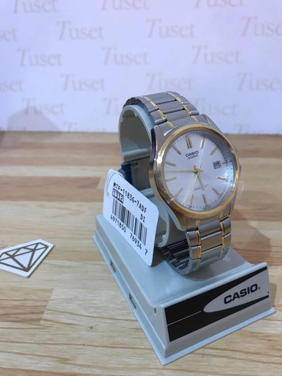 6a2c74ec5832 reloj casio hombre modelo mtp-1183g. garantía 1 año. tuset. Cargando zoom.