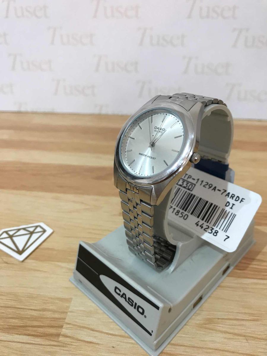 0fac5dd18db9 reloj casio hombre mtp-1129a. 1 año garantía oficial. tuset. Cargando zoom.
