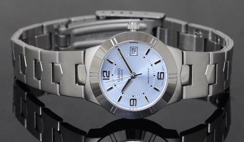 reloj casio ltp 1241 ce de dama garantía