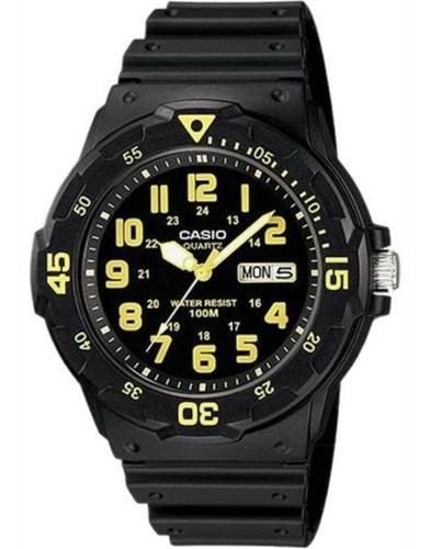 reloj casio sumergible 100 mts. mrw 200h - hombre