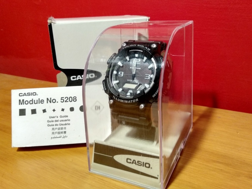 f5e0399d6e11 Reloj Casio Tough Solar (no.5208) Sin Uso -   1.000
