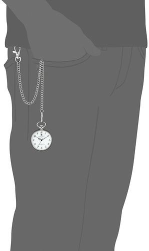 reloj charles-hubert paris stainless steel quartz pocket