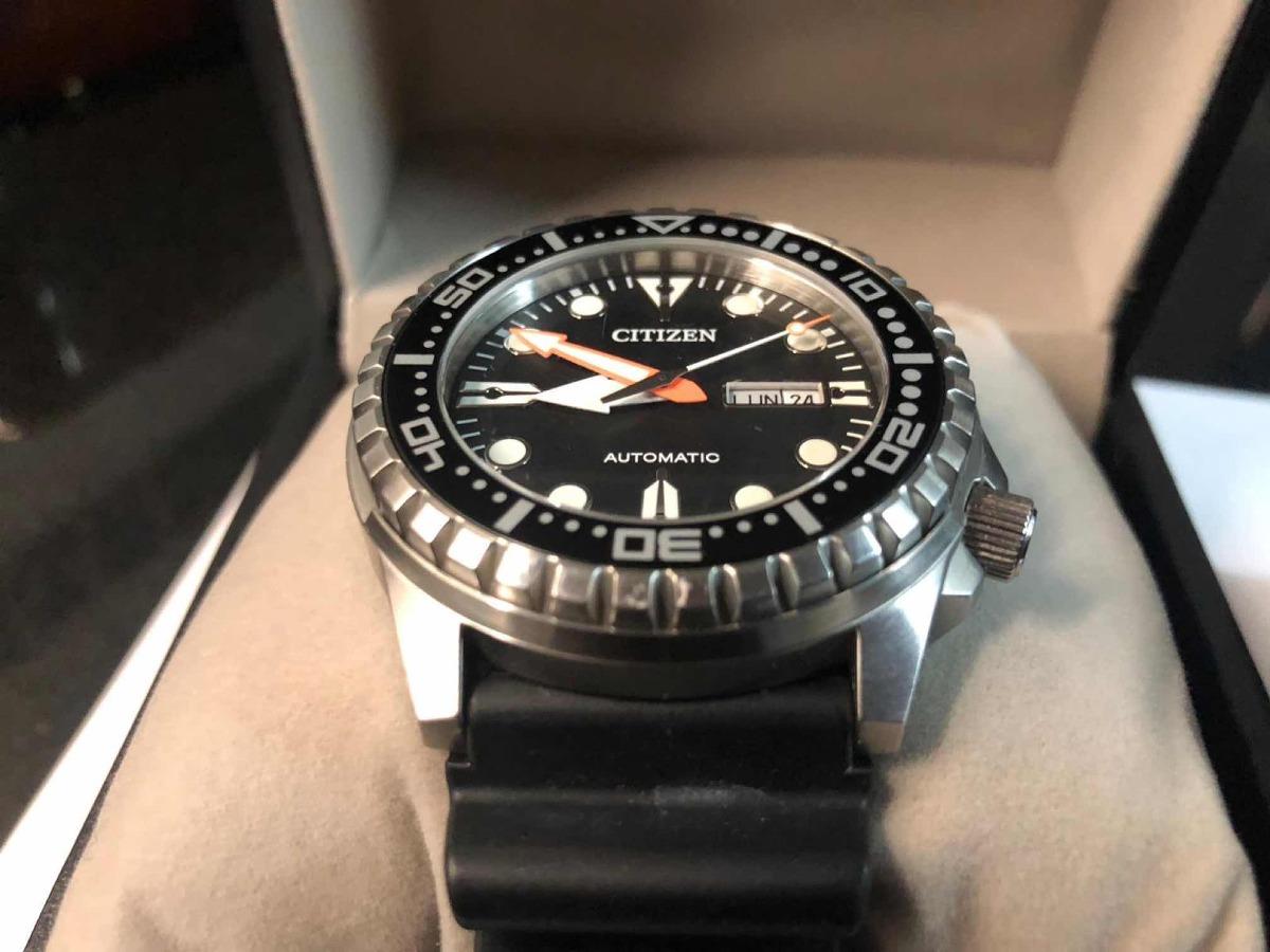 ec74519ab31a reloj citizen automático marine sport garantia. Cargando zoom.