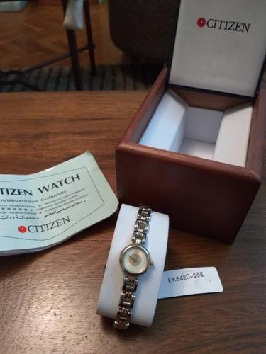 reloj citizen de dama modelo ek 8420