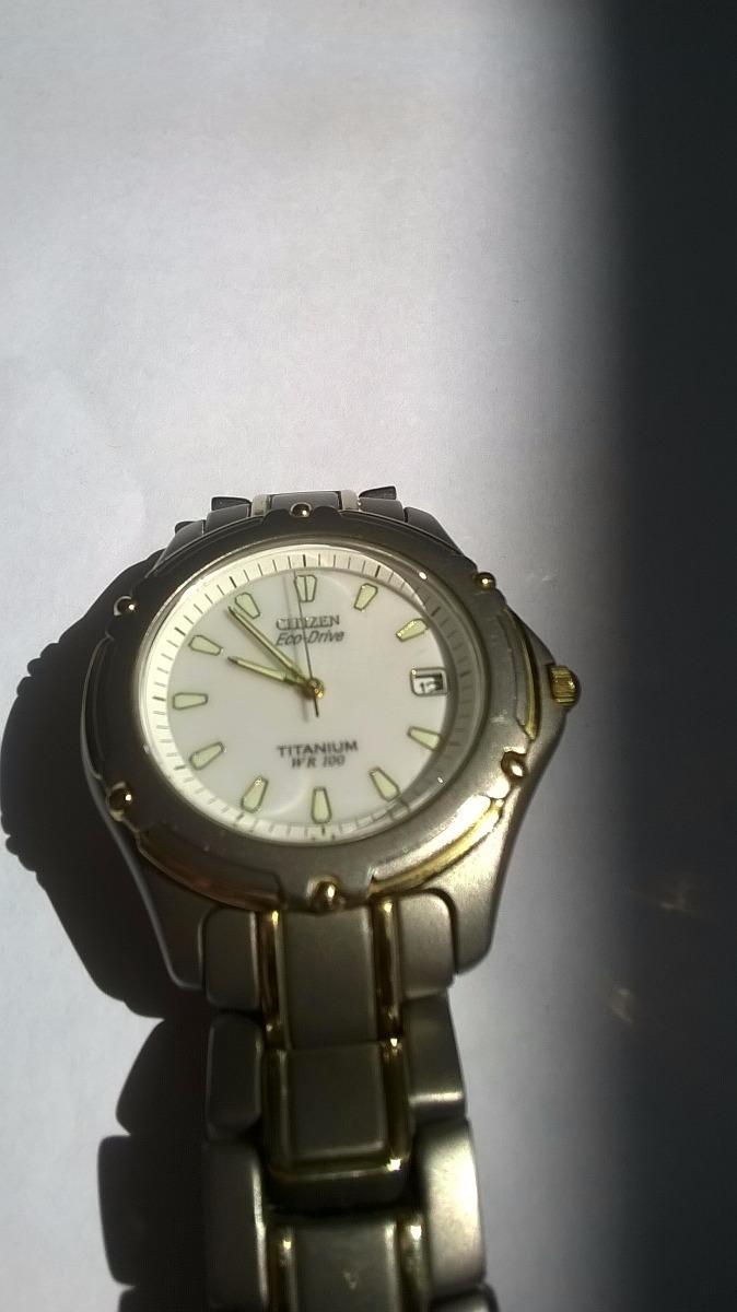 995d04e565d3 reloj citizen eco-drive wr 100 titanium. Cargando zoom.