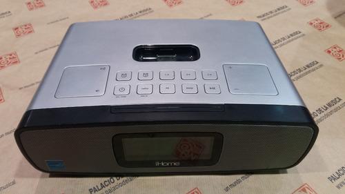 reloj con parlantes para ipod ihome - liquidación!