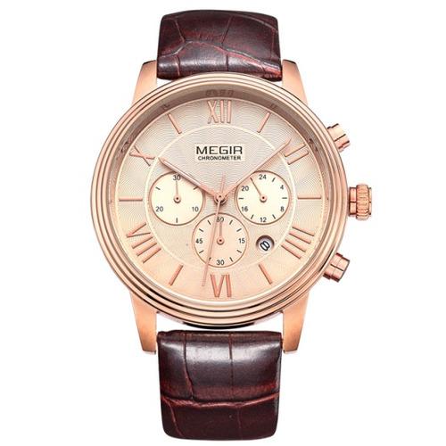 reloj cronografo megir modelo 2012rxm - original