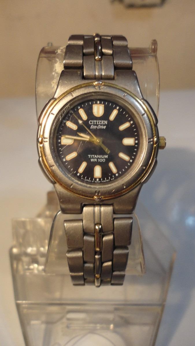 reloj dama japones eco drive titanium citizen combinado. Cargando zoom. e545c99073