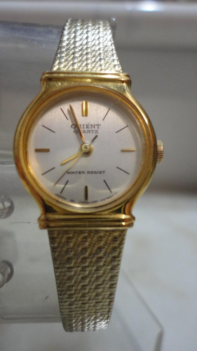 06d5caec40d0 Reloj Dama Japones Orient Quartz Dorado. -   3.000