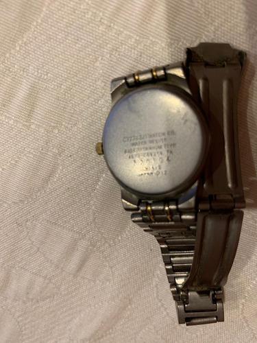 reloj de dama citizen titanium