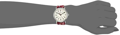 b97b333f27e1 Reloj De Mujer Timex Tw2r29700 Weekender Violet Floral Re - U S 88 ...