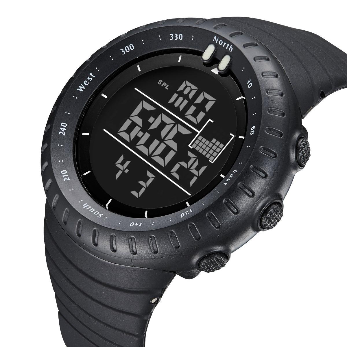 f5cd0d450a50 reloj de pulsera digital deportivo para hombre resistente. Cargando zoom.