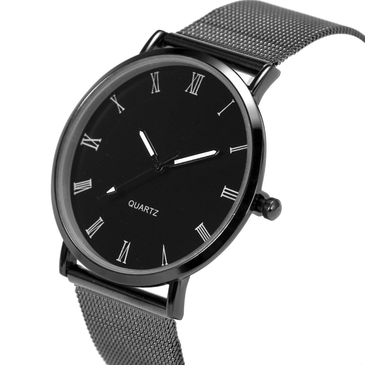 2a750686a9a1 reloj de pulsera para hombre minimalista ultra fino de ma. Cargando zoom.