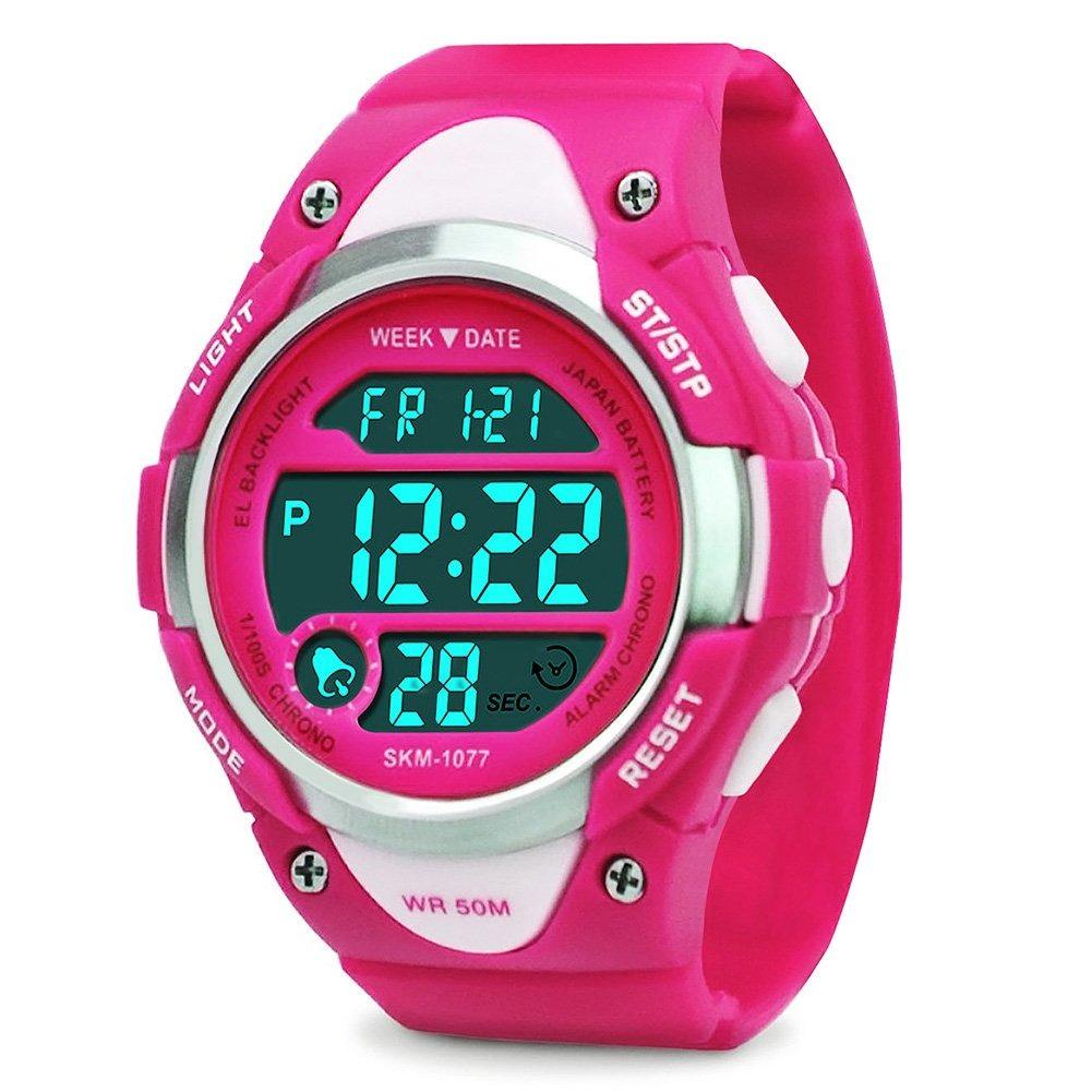 64216a42531a reloj digital de niños - niñas deportes impermeable reloj. Cargando zoom.