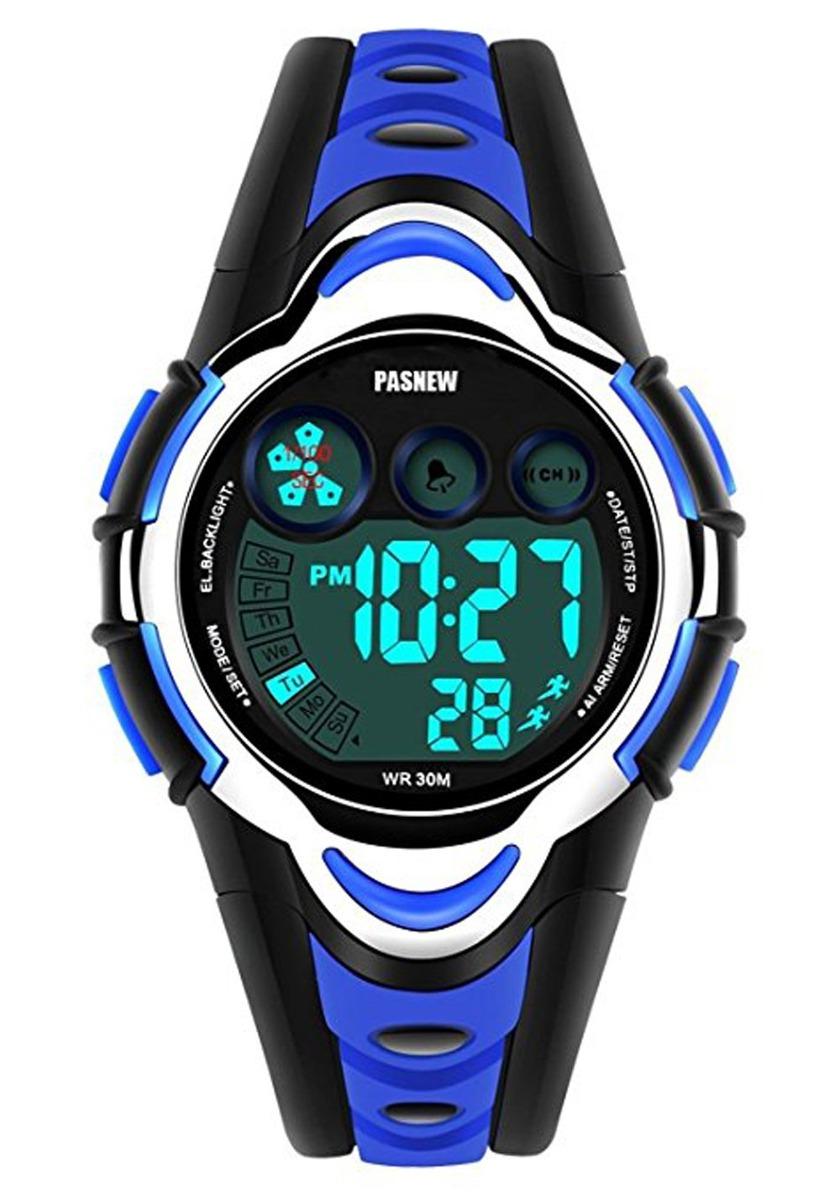 b08e789966f1 reloj digital para niños led deportes relojes electrónico. Cargando zoom.