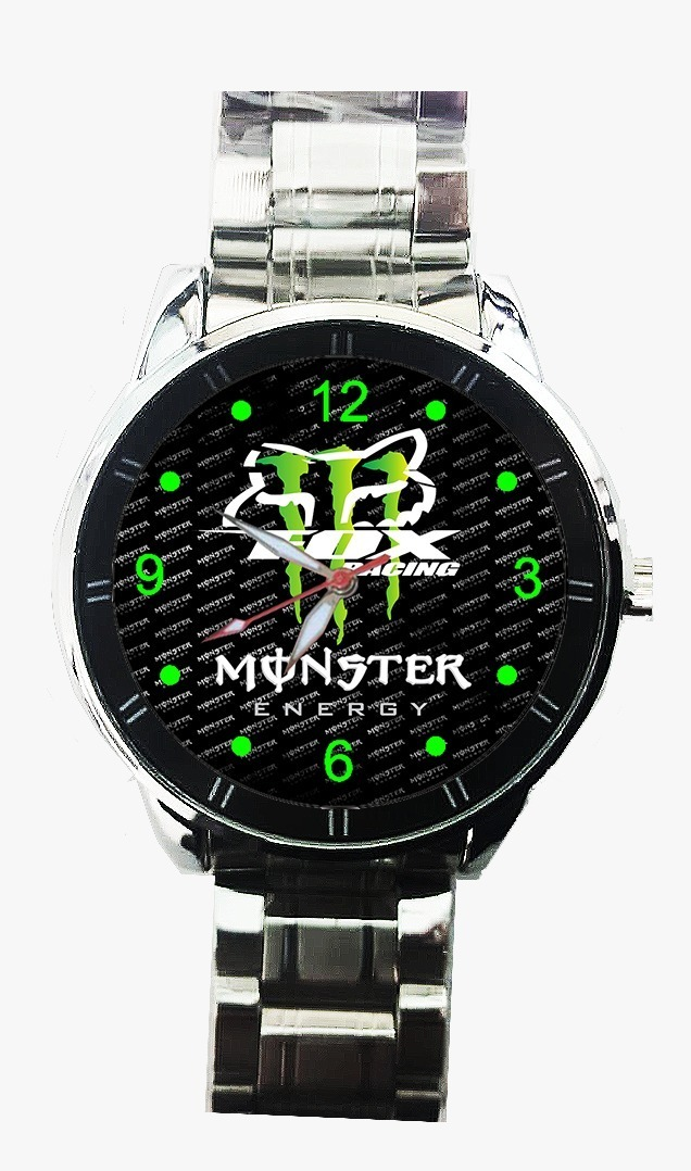 Reloj Fox Casio Tipo Pulsera De Metal Monster Yf6bvIy7g