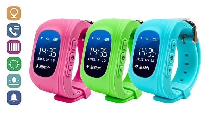 1106f1fd7713 Reloj Gps Para Niños Q50 Smart Watch Android iPhone Celular -   1.700