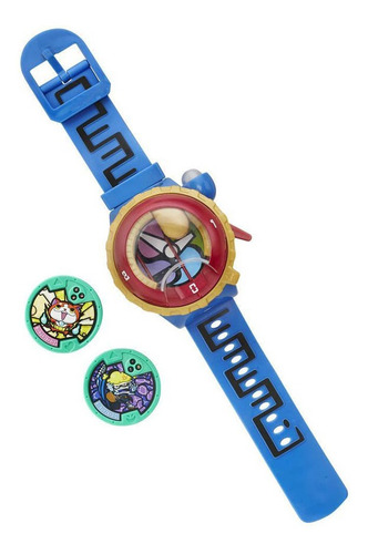 reloj hasbro yo-kai model zero con luces y sonidos