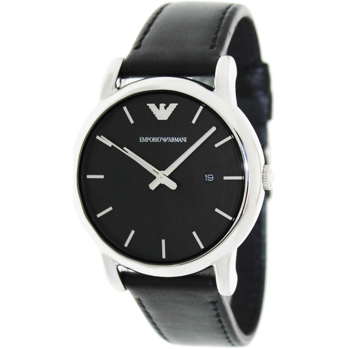 0d6320b571 Reloj Hombre Emporio Armani Classic Ar1692 Cuero Negro - U$S 290,00 ...