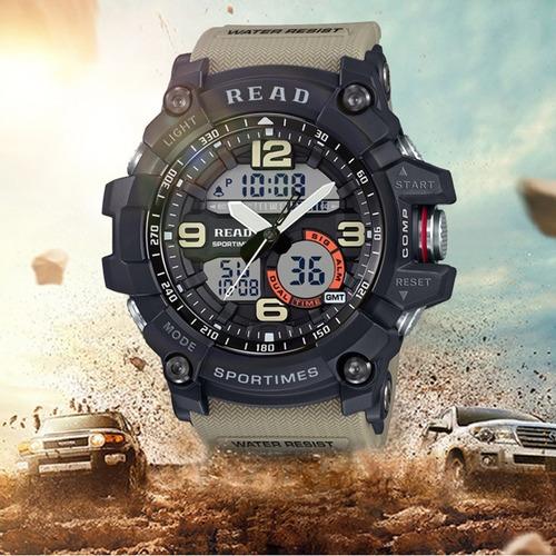 reloj hombre estilo militar, super oferta y envio gratis!