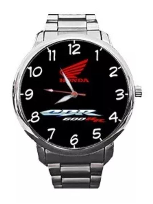Reloj Honda Cbr 600 Pulsera De Metal Tipo Casio 299900 En