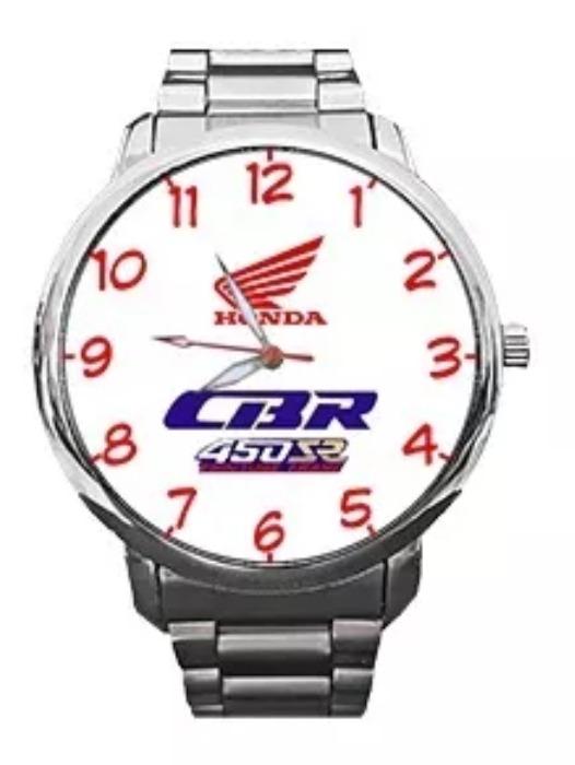 Reloj Honda Cbr Pulsera De Metal Tipo Casio 299900 En Mercado