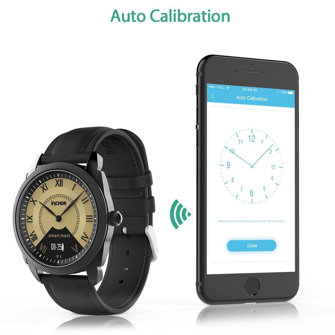 Inteligente Reloj Bluetooth Inchor Inclock Vida Impermeable lK1cTF3J