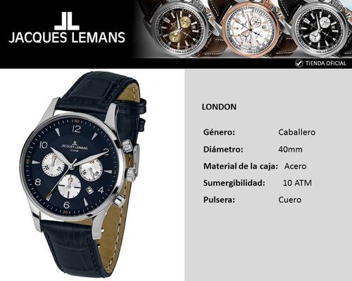 reloj jacques lemans 1-1654c
