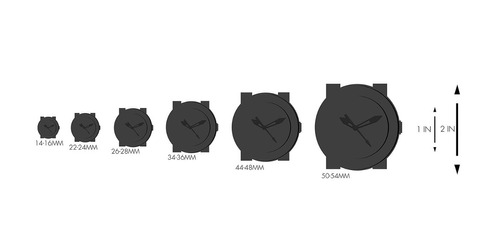 reloj kyboe! 'power' quartz stainless steel and silicone