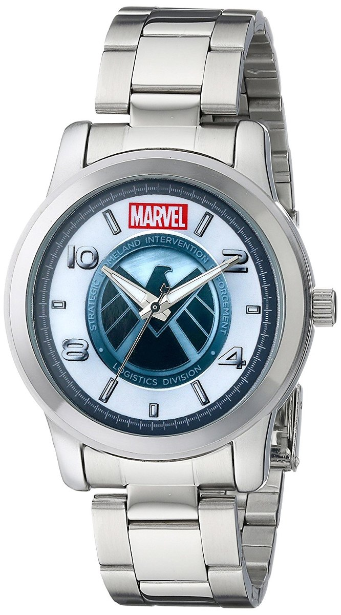 Men's Of Agents Marvel Analog Reloj Shield W001647 Quartz lcFKTJ13