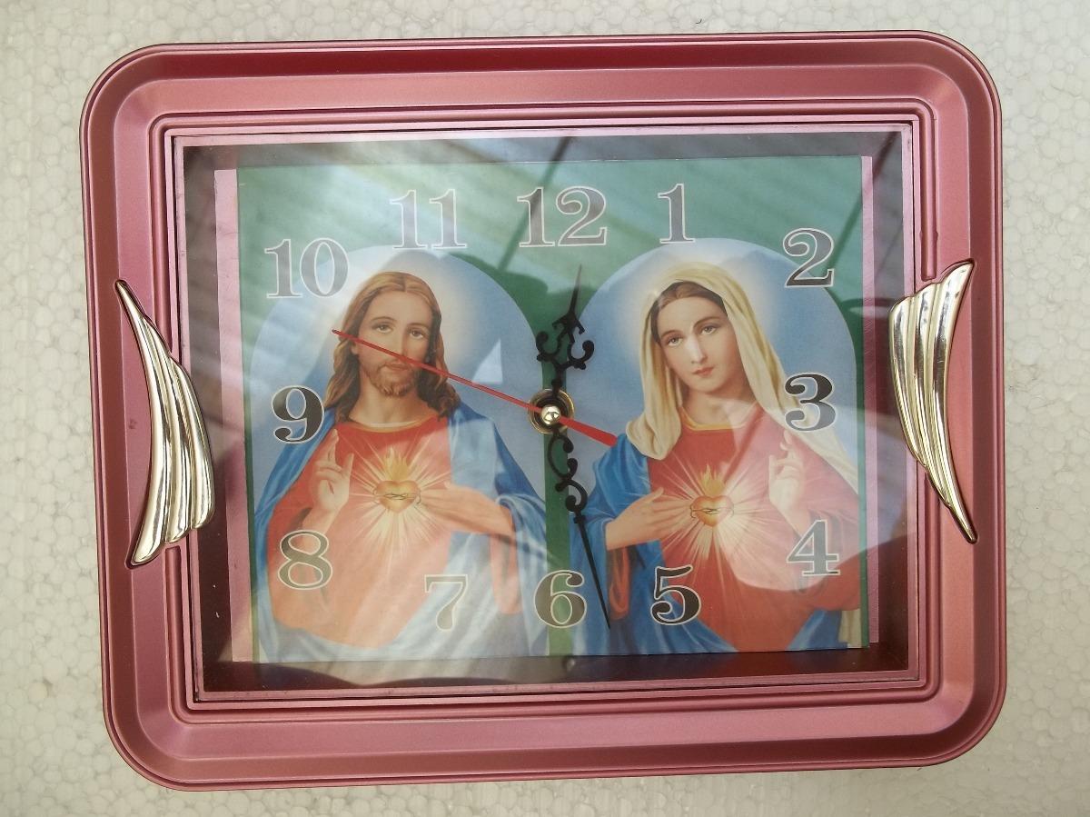 Reloj Mediano De Pared Jesus Jesucristo Cristo Virgen Maria 120