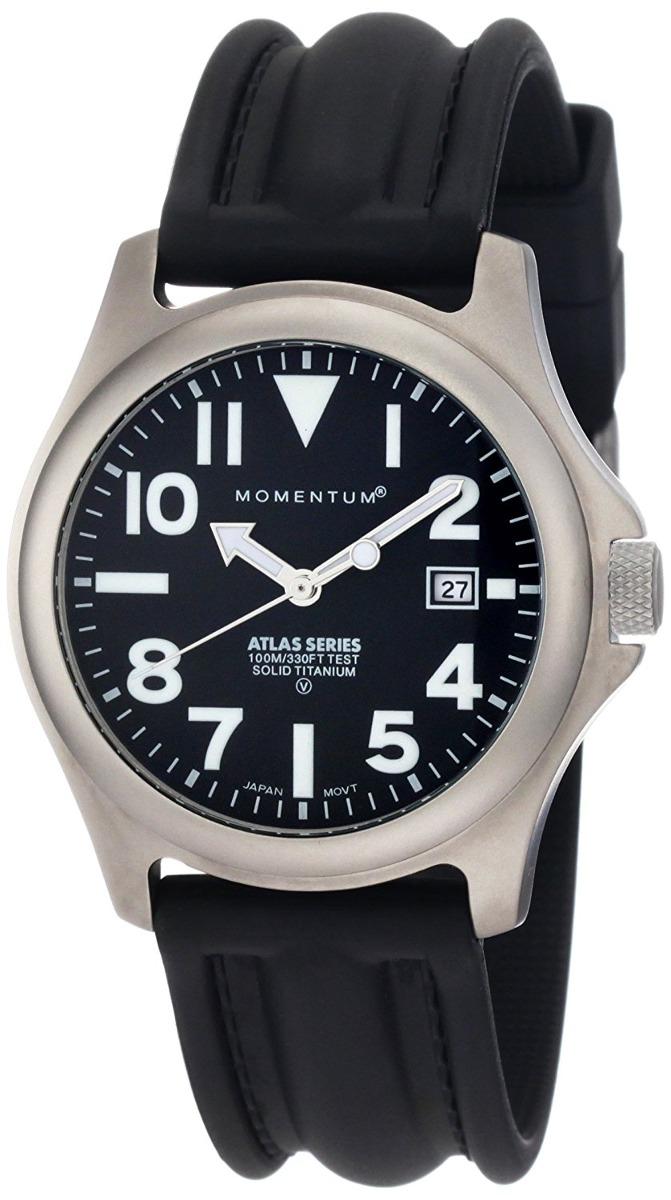 Momentum With Titanium Reloj 1m Watch Atlas Men's Sp00b1 513KJFuTlc