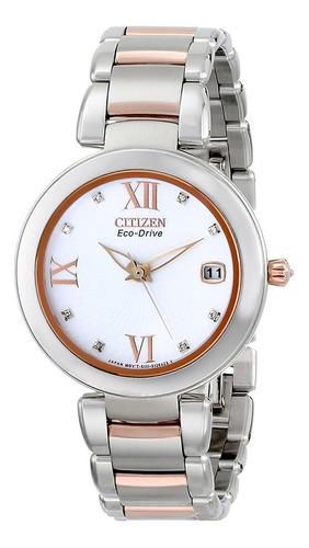 reloj mujer citizen women's eo1116-57a marne signature