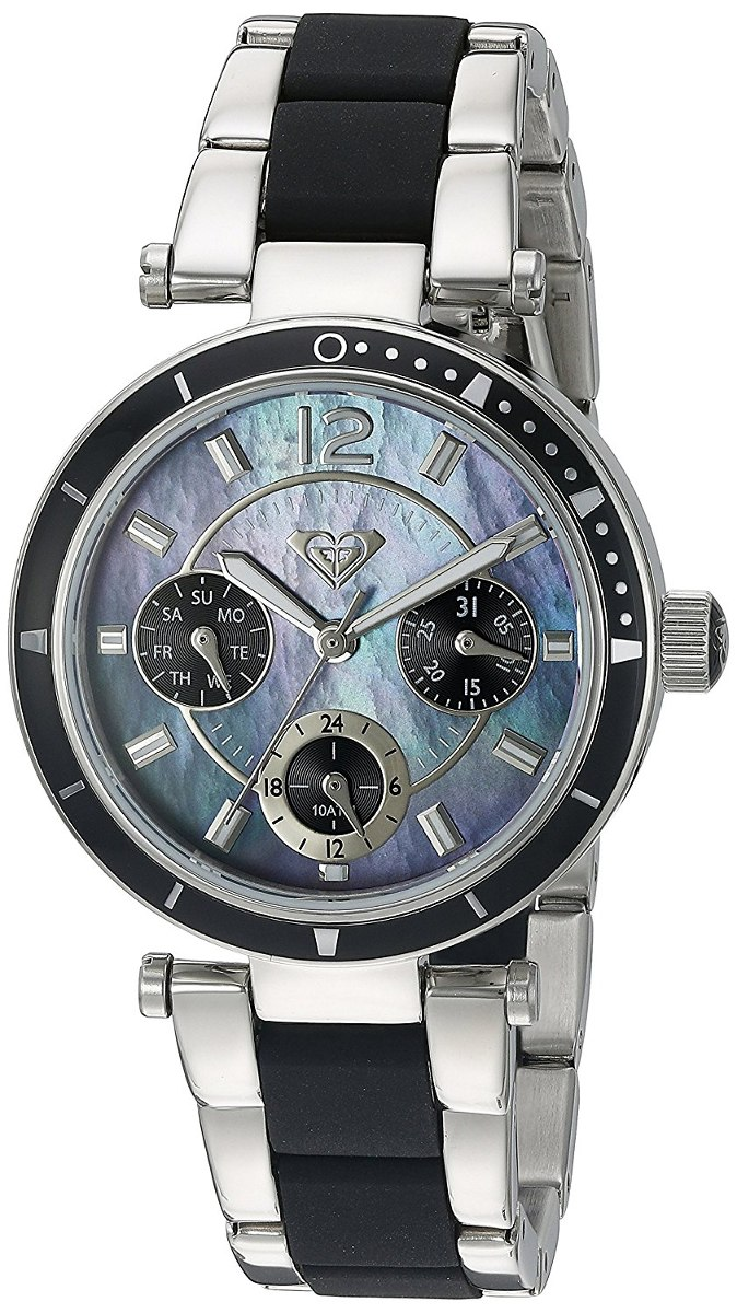 67beee76e5a reloj mujer roxy women s rx 1004jmsv the manhattan. Cargando zoom.