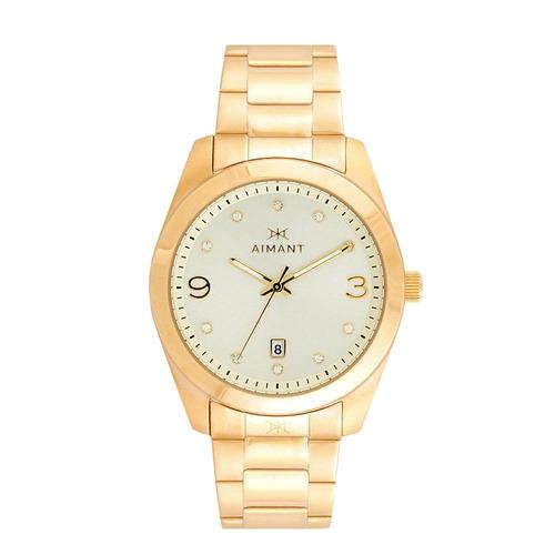 reloj para mujer aimant lbr-150sg-ggb sumergible-ub