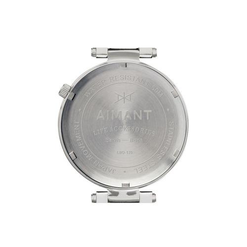 reloj para mujer aimant lbr-150ss-4s con malla metalica-ub