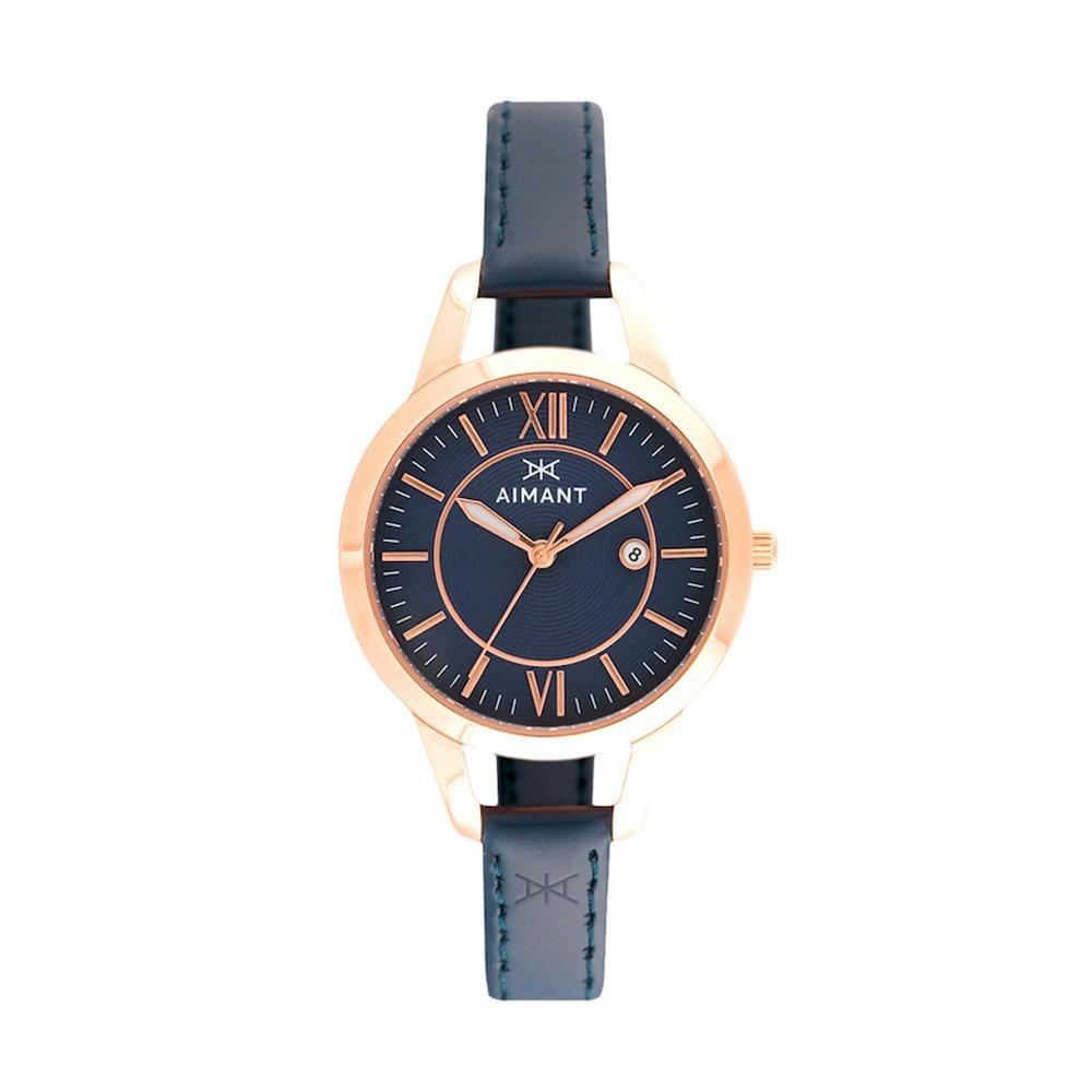 782eeaf590fa Reloj Para Mujer Aimant Lky-180l2-2rg Malla De Cuero-ub - U S 109