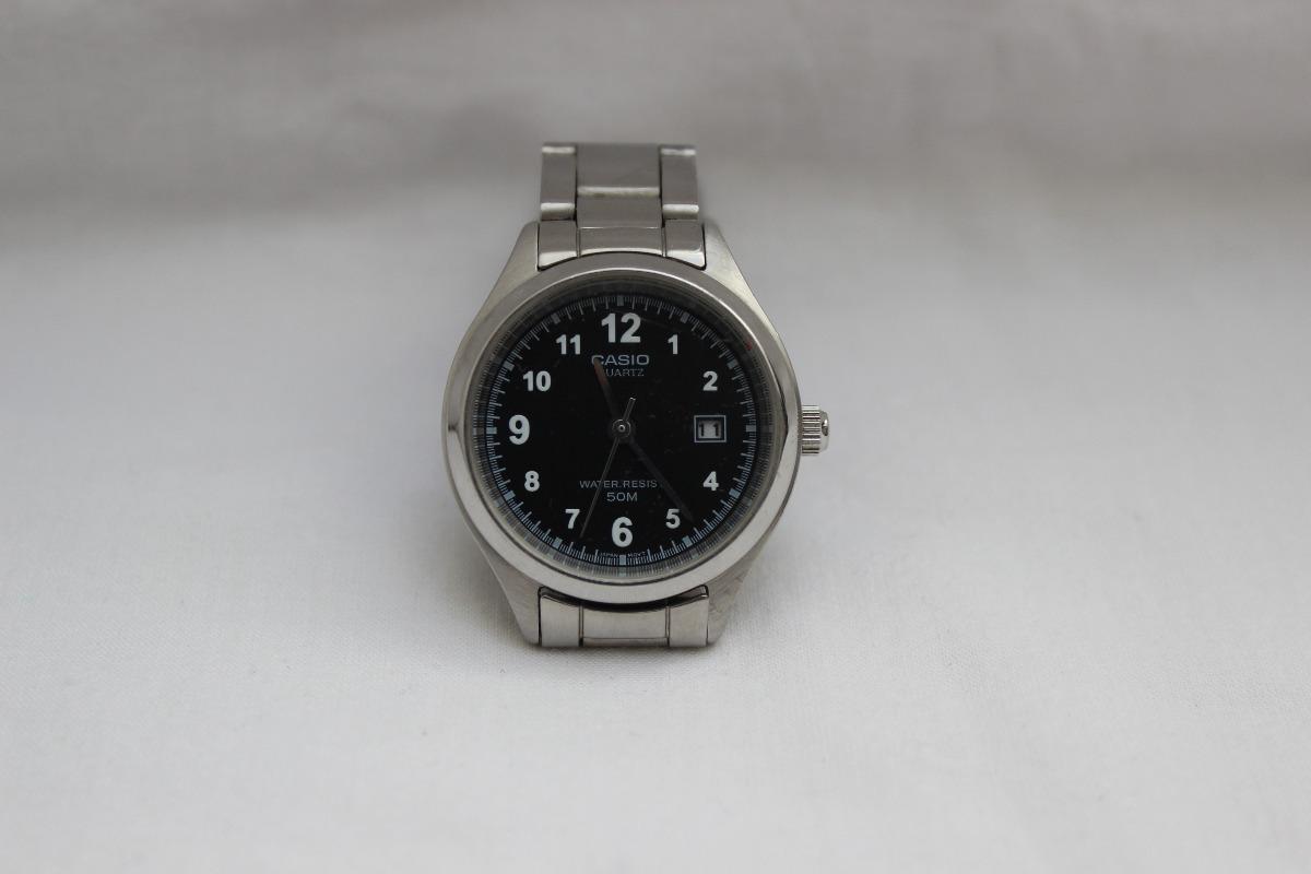 12305e37b5d6 Reloj Pulsera Casio Mtp-1180 Negro Dama Como Nuevo -   1.300