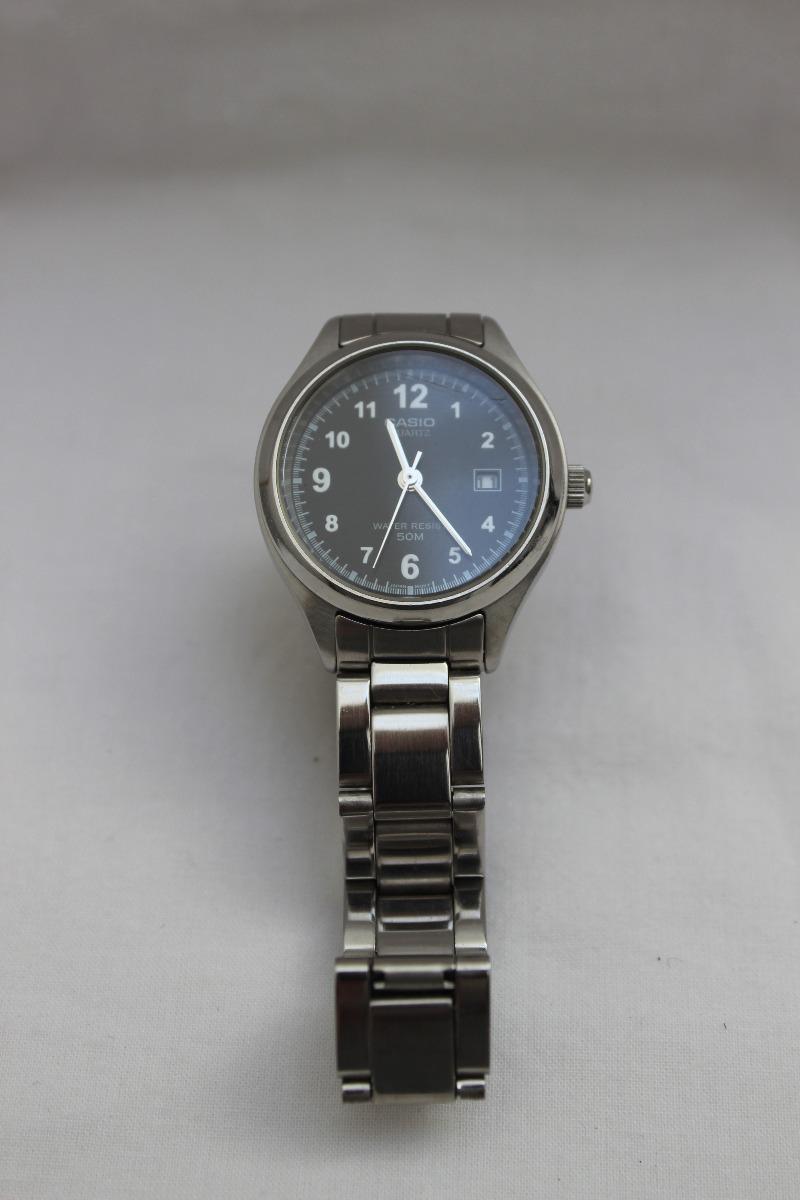 46d175a8ead8 reloj pulsera casio mtp-1180 negro dama como nuevo. Cargando zoom.