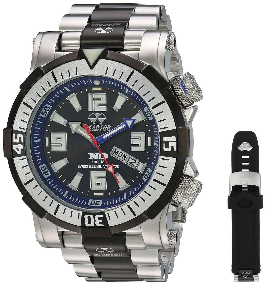 Poseidon Men's Classic Reactor Analog Le Reloj 55903 8n0ONkPwX