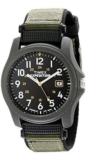 nuevo estilo 222c8 8b351 Reloj Timex Expedition Camper P/hombre, Malla De Nylon Verde