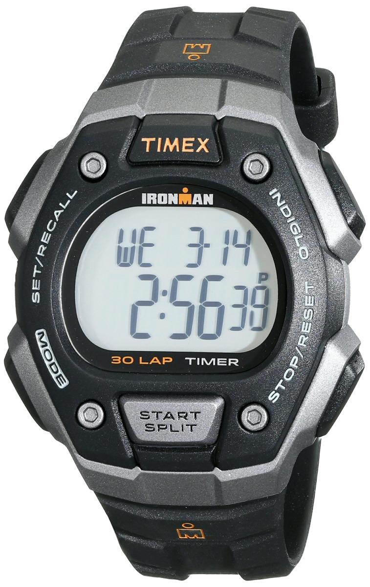 accface77d50 reloj timex t5k821 ironman classic 30 negro   naranja con. Cargando zoom.