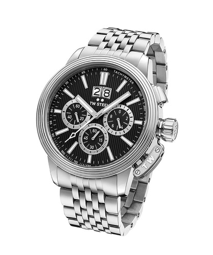 reloj tw steel 'ceo adesso' quartz stainless casual watch,